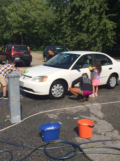 Tiger Youth Group Car Wash.JPG